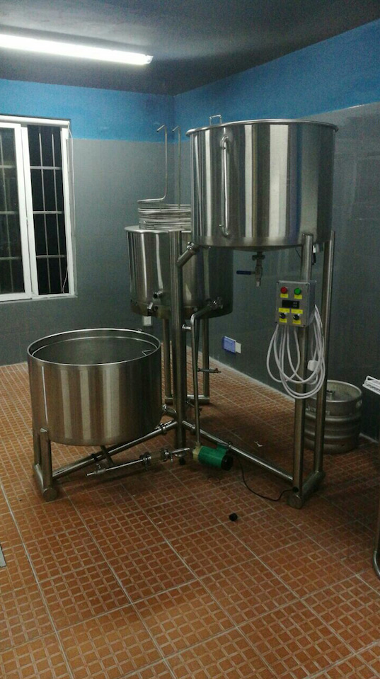 120 BBL Brewery