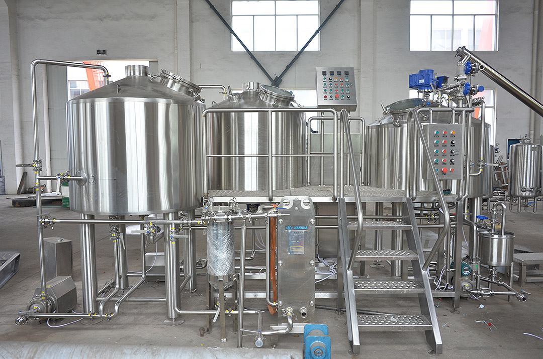 3 Vessel 18HL Steam Heated Brewhouse