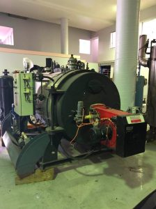 500kW Horizontal Boiler – USED / SECOND HAND – FOR SALE