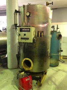 Alfarel 350kW Vertical Steam Boiler FOR SALE – Used / Second Hand