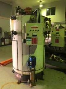 East Coast 300kW Vertical Steam Boiler FOR SALE – Used / Second-Hand