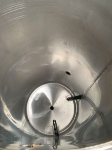 620L Stainless Steel Vessel used / second-hand FOR SALE heating elements