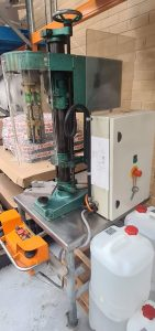 Zalking TM3 Single Head Capper used / second-hand FOR SALE side view